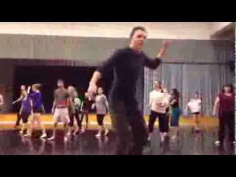 Memphis Cast Teaches UNL Dance Class