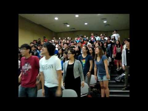 Singapore Laughter Yoga .COM Therapy @ Ngee Ann Poly by True Laughter Therapist Van Ram