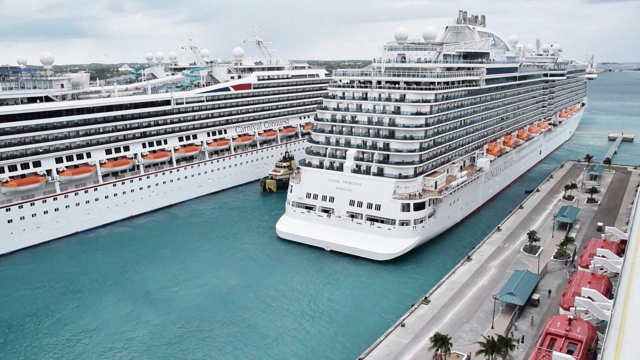 Royal Princess Cruise Ship Docking In Nassau Bahamas HD YouTube - Cruise ships to the bahamas
