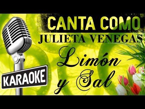 Limón y Sal, letra - Julieta Venegas karaoke