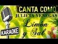 Limón Y Sal Letra Julieta Venegas Karaoke mp3