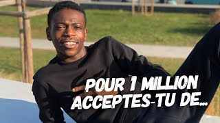 Azize Diabate (DALS/TF1) Pour 1 million acceptes-tu de
