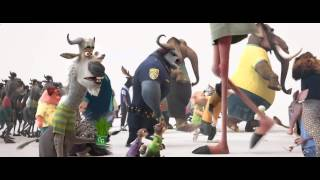 1er avance de #Zootopia de Walt Disney Animation Studios.