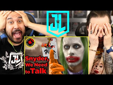 Snyder Cut | Film Theory: DEAR DC, I FIXED YOUR UNIVERSE! (JUSTICE LEAGUE) – REACTION!!