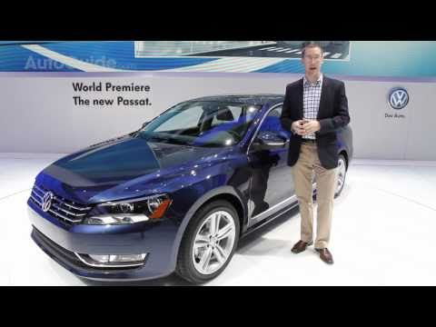 NAIAS Detroit 2011: 2012 Volkswagen Passat Review