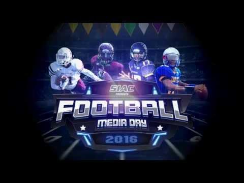 2016 SIAC Football Media Day Highlights