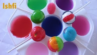 Happy Todldler Ishfi Learn Colors with Lollipop and Colourful Paint