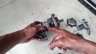 Setelan minyak dan vakum turbo inline r901 / r801