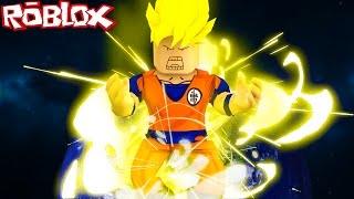 GOKU GOING SUPER SAIYN IN ROBLOX! (Roblox Dragon Ball Z)