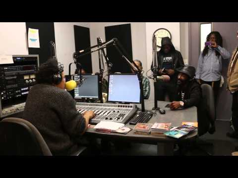 delroy melody live on air in new york city radio station