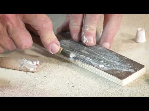 Woodcut Printmaker Rod Nelson Explains How To Sharpen And Grind Woodcutting Tools.