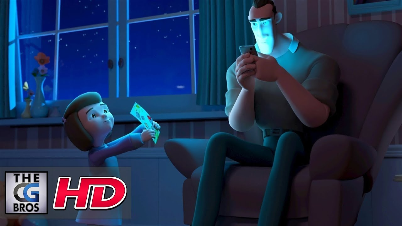 """Download CGI 3D Animated Short: """"Distracted""""  - by Emile Jacques 