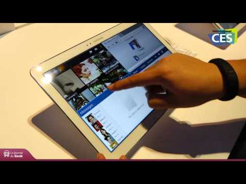 CES 2014 : Samsung Galaxy Note Pro 12.2