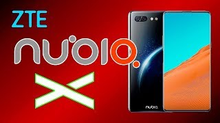 ZTE Nubia X released a smartphone with two color screens