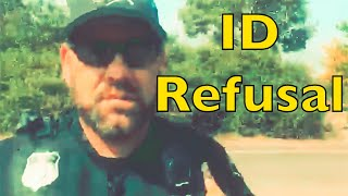 Deputy asks for ID only to get denied