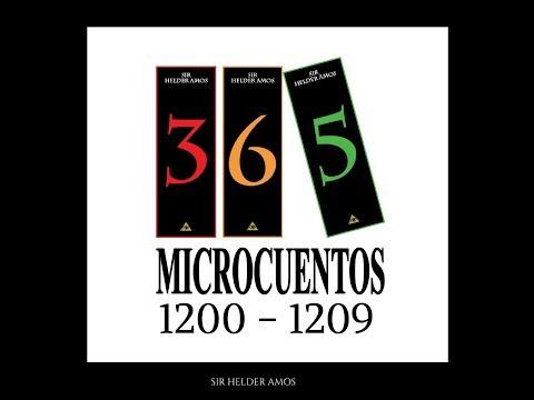 VIDEO 15: 10 Microcuentos en 1 Minuto. Antologia Abril 2018 - 365Microuentos