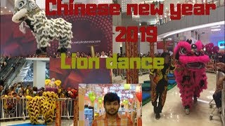 Lion Dance  Barongsai  Chinese New Year 2019 Indonesia | Vlog 002