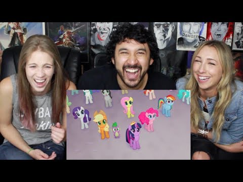 MY LITTLE PONY: THE MOVIE Official TRAILER #1 REACTION & REVIEW!!!