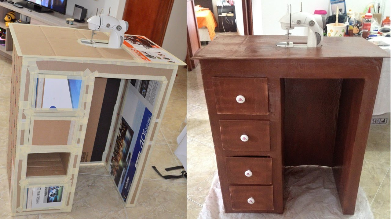 Tutorial c mo hacer mueble de carton para escritorio o - Ikea mueble de cocina ...