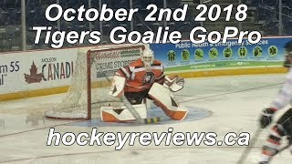 October 2nd 2018 Tigers Hockey Front View
