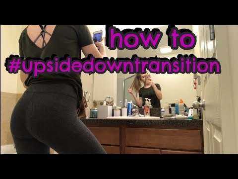 Upside Down Transition Tutorial on MUSICAL.LY *EASY WAY*