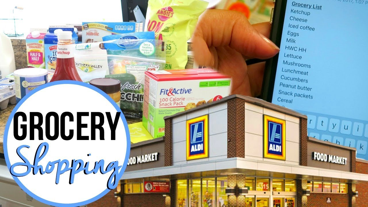how to make a cheap grocery list | aldi grocery haul & shop with me