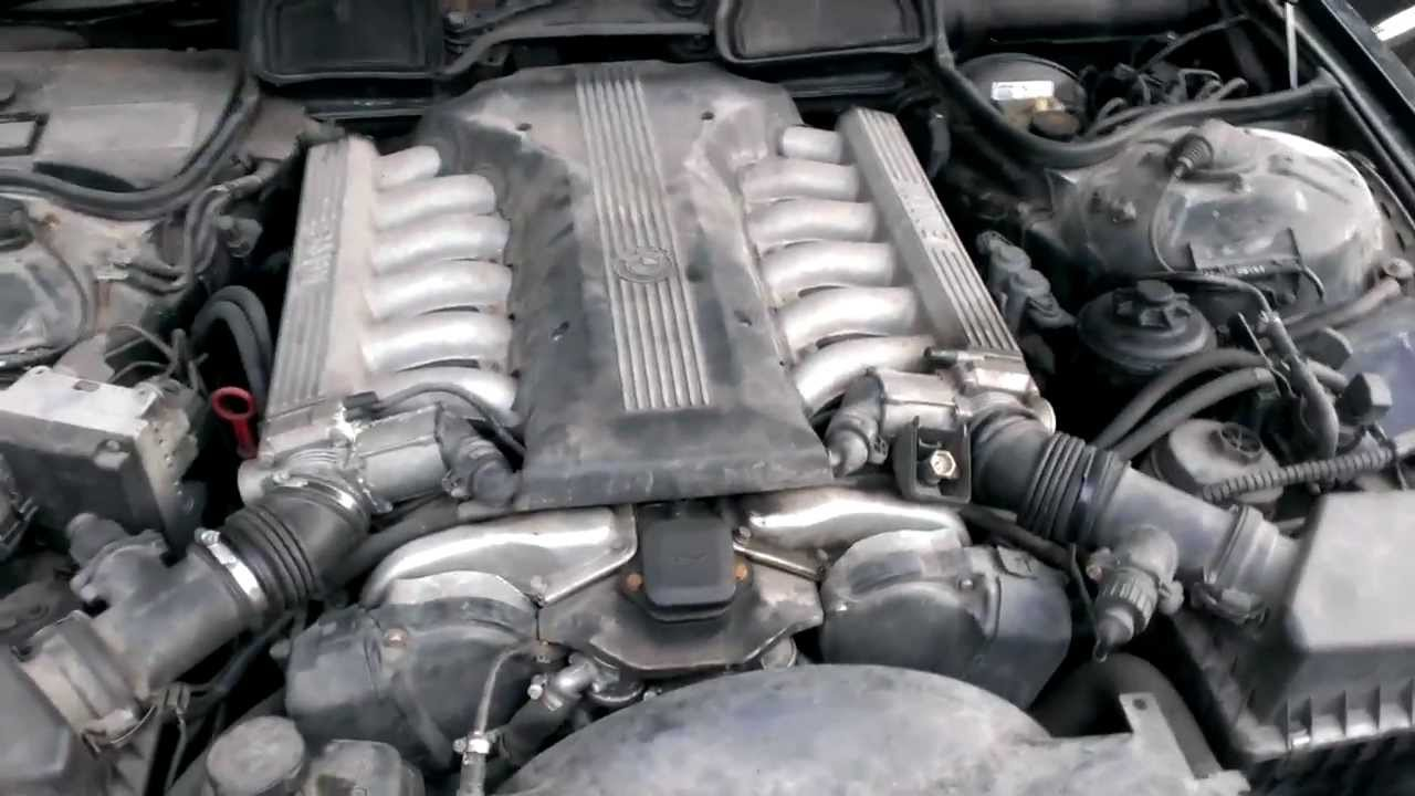 bmw il   engine run youtube