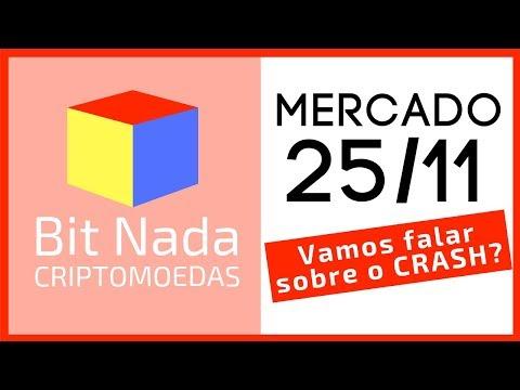 Mercado de Cripto! 25/11 Vamos falar sobre o CRASH? / BCH / Mastercard