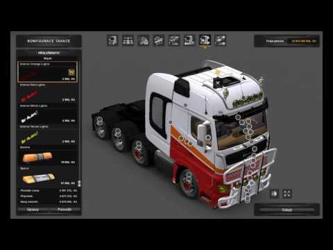 [ETS2]Euro Truck Simulator 2 Mercedes-Benz MP4 Mega Mod