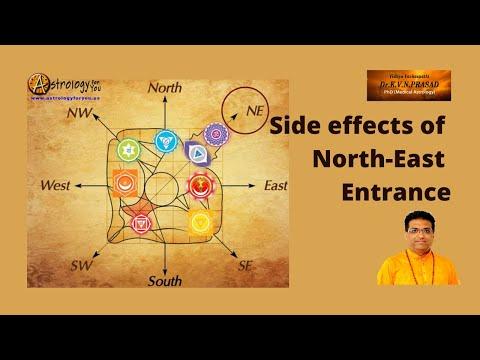 Side Effects of North-East Entrance by Dr. K.V.N. Prasad, PhD (Astrology)