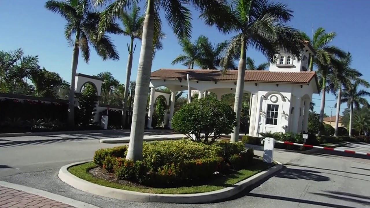 Mediterranea Townhomes Riviera Beach Palm Beach Gardens Florida Youtube
