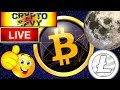 Crypto Savy LIVE STREAM! bitcoin litecoin price prediction, analysis, news, trading