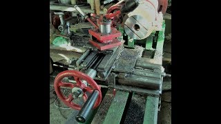 Суппорт для токарного станка по металлу своими руками в работе.