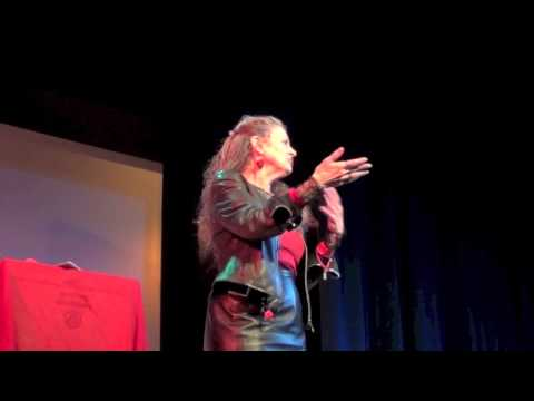 Dr. Laura Agustín  on Sex work as work at the Dublin Anarchist Bookfair