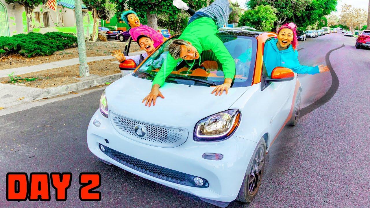 LETZT, UM DAS SMART CAR ZU VERLASSEN, HÄLT ES !! (HERAUSFORDERUNG) + video
