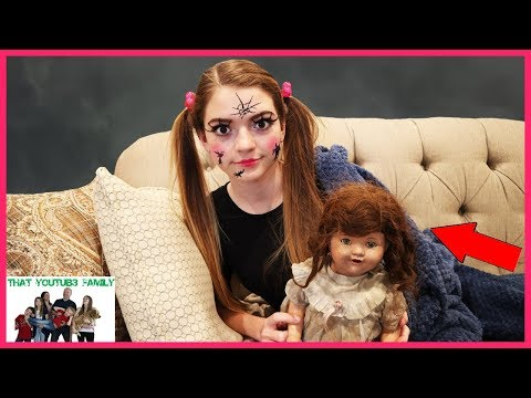 The DollMaker Is Turning Jordan Into A Doll!  The DollMaker Part 10 / That YouTub3 Family