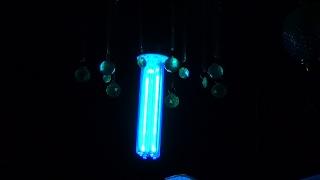 посылка из Китая. Кварцевая ультрафиолетовая бактерицидная лампа. Распаковка и обзор