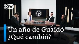 Un año de Guaidó: ¿qué cambió en Venezuela?
