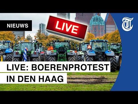 KIJK NU LIVE: Duizenden boeren protesteren in Den Haag