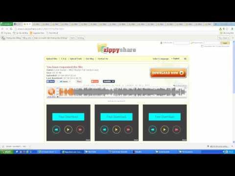cách đăng nhạc lên zippyshare