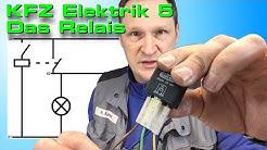 KFZ Elektrik 5 - Wie wird ein Relais angeklemmt?