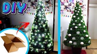 Árbol de Navidad con cartón  DIY Navidad.