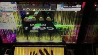 【CHUNITHM】world's end FREEDOM DIVE [跳] AJしてみた ソロ 手元 7位相当