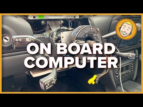 HOW TO INSTALL THE ON BOARD COMPUTER in a Porsche Boxster 986 | PART 1 (Project 91)