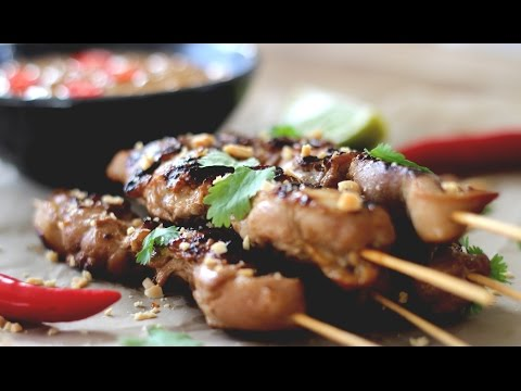 Satay Chicken With Peanut Sauce Recipe