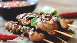 Satay Chicken with Peanut Sauce Recipe