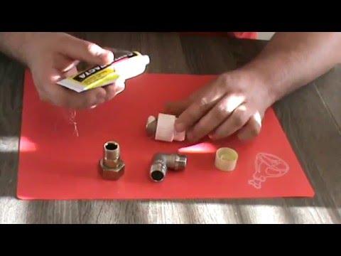 Как наматывать лен на резьбу