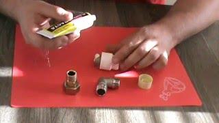 видео Сантехнический лен (пакля). Как намотать лен на резьбу?