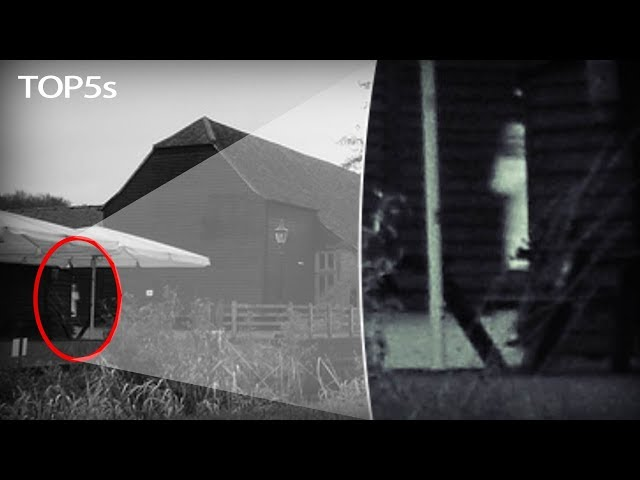 5 Spooky Paranormal Entities Photographed at Haunted Locations