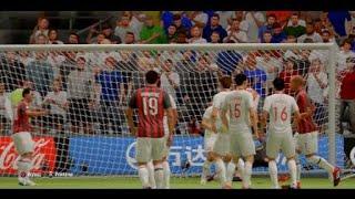 Amazing free kick Zlatan IBRAhimovic-FIFA 19